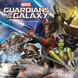 Marvel Comics Guardians Of The Galaxy 2017 Square Calendar 30x30cmBooks