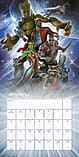 Marvel Comics Guardians Of The Galaxy 2017 Square Calendar 30x30cm screen shot 1