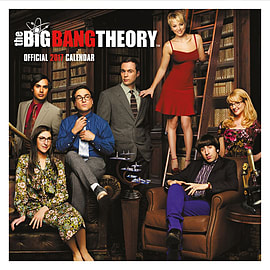 The Big Bang Theory 2017 TBBT Square Calendar 30x30cmBooks
