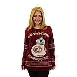 Star Wars Official BB-8 Christmas Jumper / Sweater - Large screen shot 1