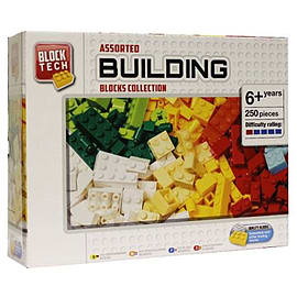 Block Tech Assorted Building Blocks Collection 250 PiecesBlocks and Bricks