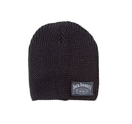 291be1f6096 Buy Jack Daniels Beanie Hat classic logo Old No 7 Emblem Official New Black  Knitted Size  One Size