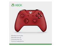 Xbox One Wireless Controller Red screen shot 3