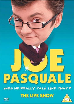 Joe Pasquale - Does He Really Talk Like That? The Live Show DVDDVD
