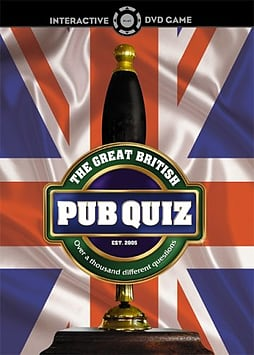 The Great British Pub Quiz DVDDVD