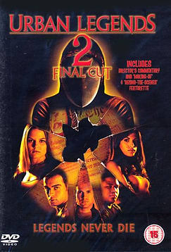 Urban Legends 2 - Final Cut DVDDVD
