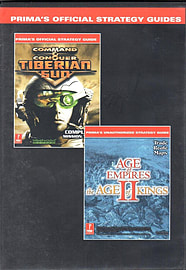 Prima Official Strategy Guides - for Command & Conquer Tiberian Sun and Age of Empires II CD-RomBooks
