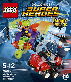 Lego Super Heroes Mighty Micros: Batman vs. Killer Moth 76069Blocks and Bricks