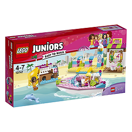 Lego Juniors Andrea & Stephanie's Beach Holiday 10747Blocks and Bricks
