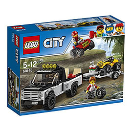 Lego City Great Vehicles ATV Race Team 60148Blocks and Bricks