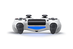 New PlayStation DUALSHOCK 4 Controller - Glacier White screen shot 2