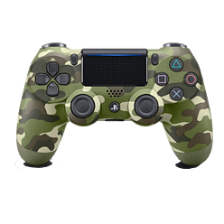 New PlayStation DUALSHOCK 4 Controller - Green CamouflagePlayStation 4