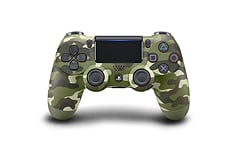New PlayStation DUALSHOCK 4 Controller - Green Camouflage screen shot 1