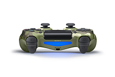 New PlayStation DUALSHOCK 4 Controller - Green Camouflage screen shot 3