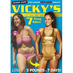 Vicky Pattisons 7 Day Slim DVDDVD