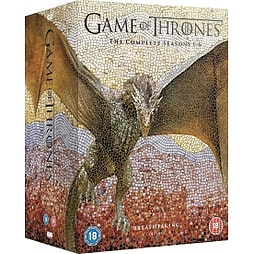 Game of Thrones The Complete Seasons 1-6 DVDDVD