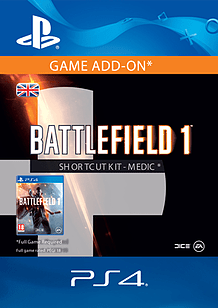 Battlefield 1 Shortcut Kit: Medic Bundle for PS4
