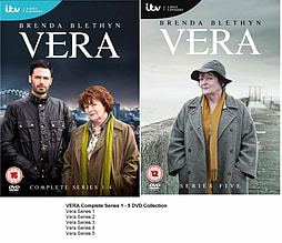 Vera Complete Collection Series 1 - 5 DVD Season 1 2 3 4 5DVD