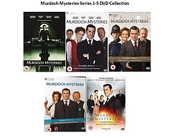 Murdoch Mysteries Complete Collection Series 1 - 5 DVD Season 1 2 3 4 5DVD