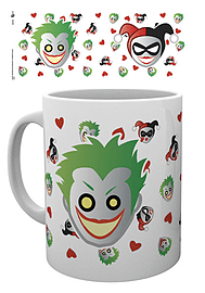 DC Comics Emoji Harley and Joker MugHome - Tableware