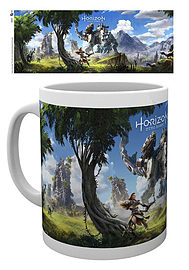 Horizon Zero Dawn Key Art MugHome - Tableware