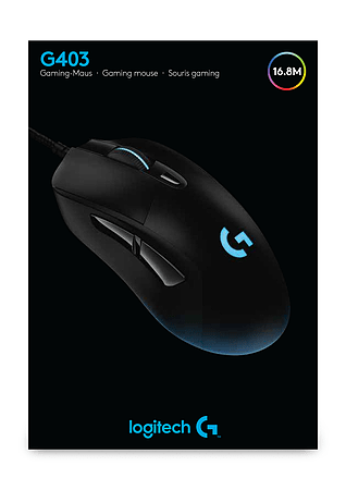 9c8a47e41c6 Buy Logitech G403 Prodigy Wired Gaming Mouse   GAME