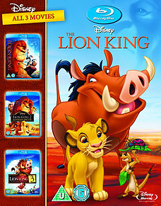Disney The Lion King 1-3 Boxset Blu-rayBlu-ray
