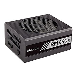 Corsair CP-9020093-UK RM850x 850 W 80 Plus Gold Certified Modular 135 mm Thermally Controlled FanPC