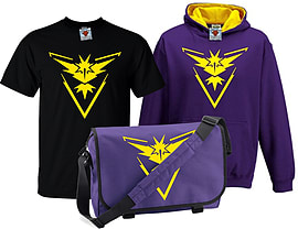 Bullshirt's Kid's Deluxe Team Instinct T-Shirt, Contrast Hoodie & Messenger Bag Set (3-4 Years)Clothing and Merchandise