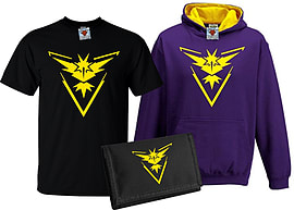 Bullshirt's Kid's Deluxe Team Instinct T-Shirt, Contrast Hoodie & Wallet Set (3-4 Years)Clothing and Merchandise