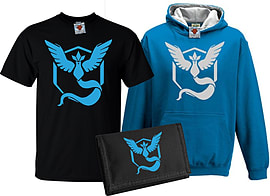 Bullshirt's Kid's Deluxe Team Mystic T-Shirt, Contrast Hoodie & Wallet Set (7-8 Years)Clothing and Merchandise