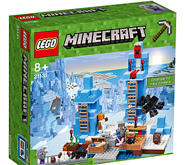 Lego Minecraft - The Ice SpikesBlocks and Bricks