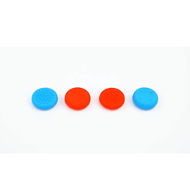 Thumb Grips for Nintendo Switch Joy-Con Controller - Set of 4 (2 Red 2 Blue)Switch