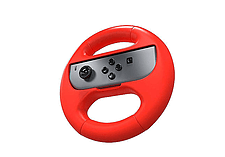 Nintendo Switch Joy-Con Steering Wheel - Blue and Red Twin Pack screen shot 2