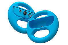 Nintendo Switch Joy-Con Steering Wheel - Blue and Red Twin Pack screen shot 3
