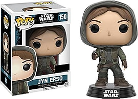 Funko Pop! Star Wars: Rogue One Jyn Erso Hooded ExclusiveFigurines