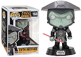Funko POP! Movies - Star Wars: Rebels #168 Fifth BrotherFigurines