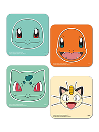 Pokemon Faces Coaster SetHome - Tableware