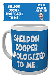 The Big Bang Theory Sheldon Cooper Apologised MugHome - Tableware