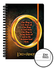 Lord of the Rings One Ring NotebookStationery