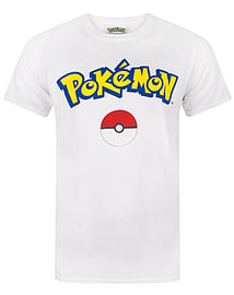 Pokemon Logo Men's T-Shirt (X-Large)Clothing and Merchandise
