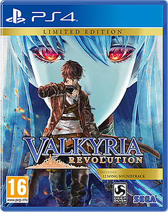 Valkyria RevolutionPlayStation 4Cover Art