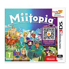Miitopia2DS/3DSCover Art