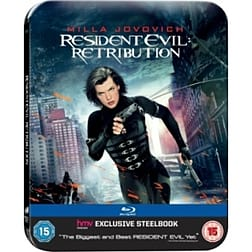 Resident Evil 5 Retribution Steelbook Blu-rayBlu-ray