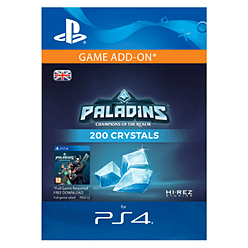 200 Paladins Crystals for PS4