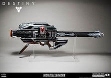 Destiny Iron Gjallarhorn Replica - Only at GAME screen shot 1