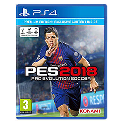 Pro Evolution Soccer 2018 Premium EditionPlayStation 4Cover Art