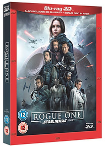 NEW Rogue One 3D - A Star Wars Story - 3D Blu Ray - Brand New & SealedBlu-ray