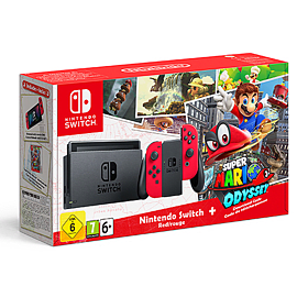 Nintendo Switch Mario Odyssey Limited Edition ConsoleSwitch