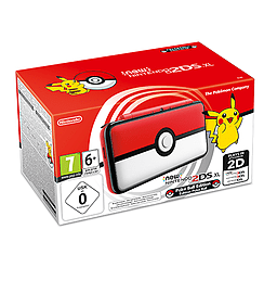 New Nintendo 2DS XL Poke Ball Edition Console2DS/3DS